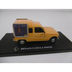 Miniature 1/43 4L LA POSTE