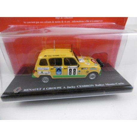 Miniature 1/43 4L GROUPE A