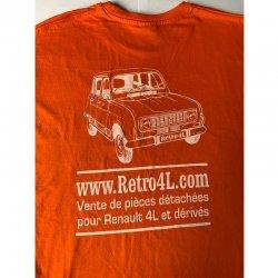T-shirt Retro 4L - Taille XL