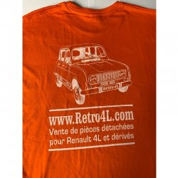 T-shirt Retro 4L - Taille XXL
