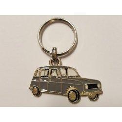 Porte clés R4 - gris