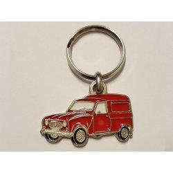 Porte clés R4F4 - Rouge