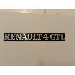 Monogramme RENAULT 4 GTL