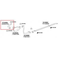 Tube Sortie Collecteur moteur BILLANCOURT