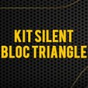 Kit Silent Bloc Triangle